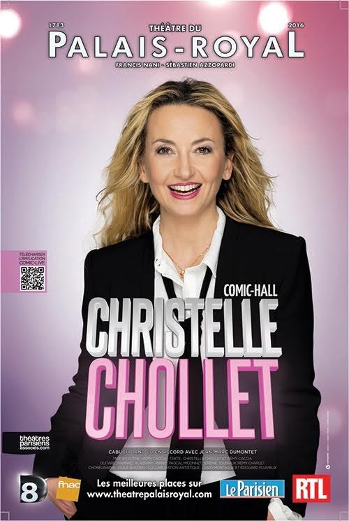Christelle Chollet au théâtre du Palais-Royal