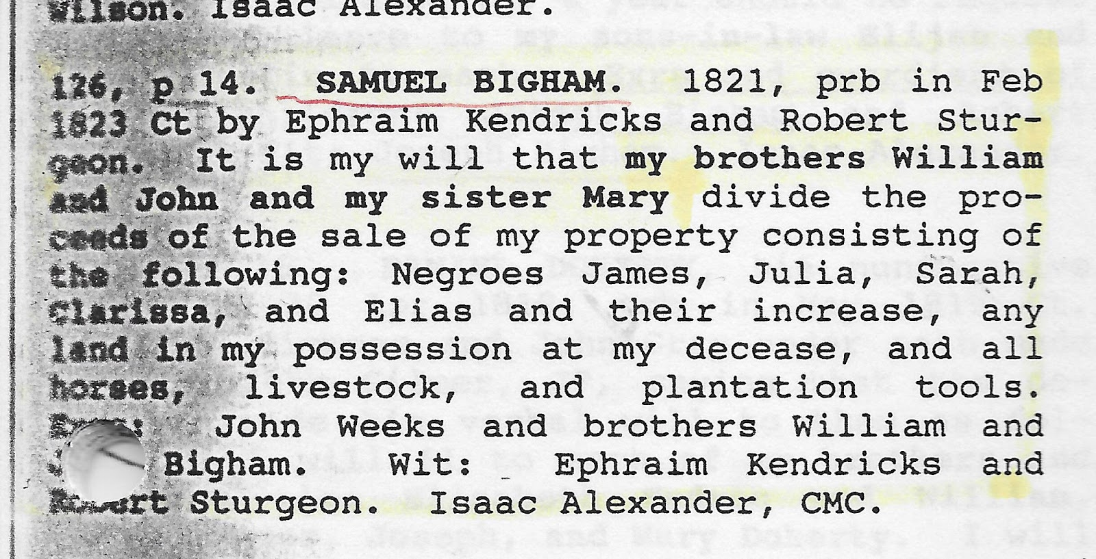 I Found In The Following Book At The Family History Library In Salt  Lake City: Mecklenburg County, North Carolina Will Abstracts, 17911868, Books  Aj,