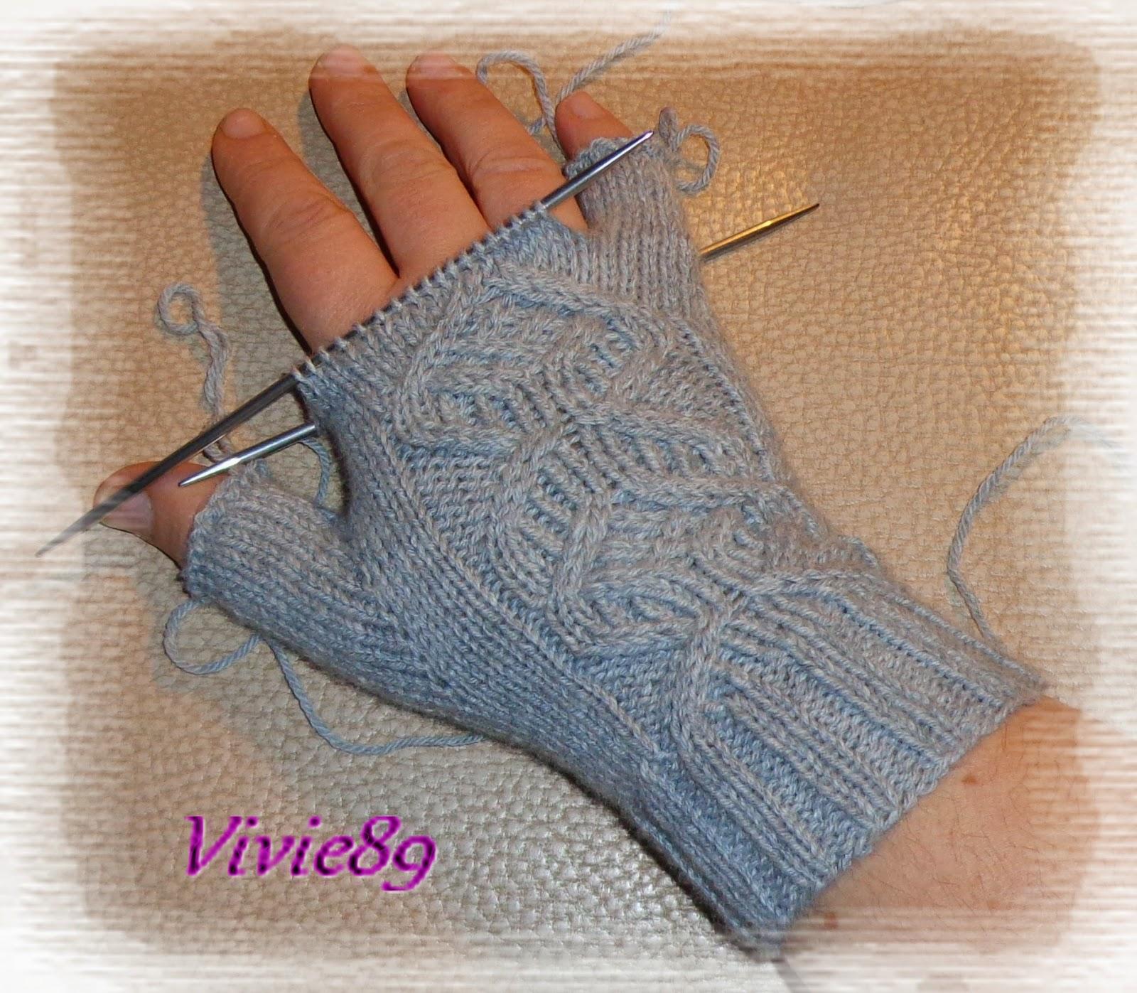 Comment tricoter avec ses doigts - Tricoter des mitaines facile ...