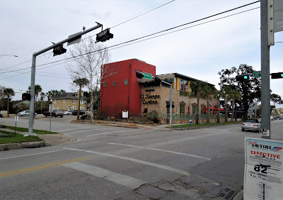 Intersection of Lower Westheimer and Taft Street - El Tiempo Cantina