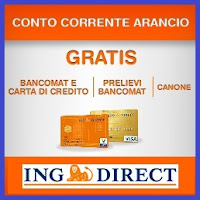 conto corrente arancio ing direct