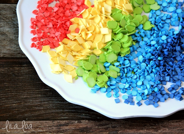 Learn how to make your own sprinkles -- any shape, any color you want!