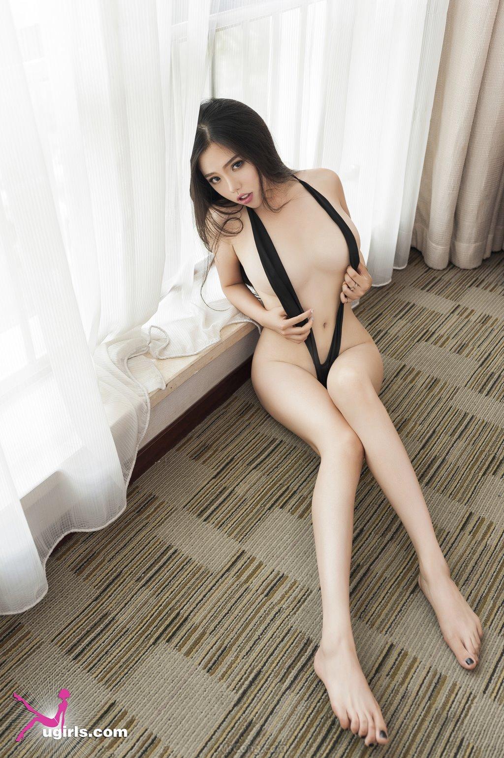 Image MrCong.com-UGIRLS-035-Ni-Xiao-Yao-021 in post Mê mẩn ngắm vòng một nở nang của người đẹp Ni Xiao Yao (妮小妖) trong bộ ảnh UGIRLS 035