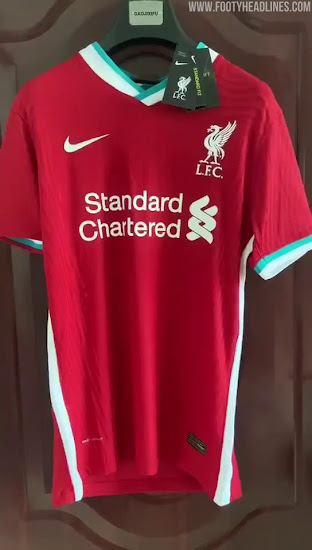 Nike Liverpool 20-21 Home Kit Leaked - 10 New Pictures - Footy ...