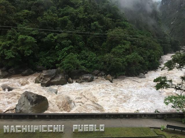 Aguas Calientes Machu Picchu
