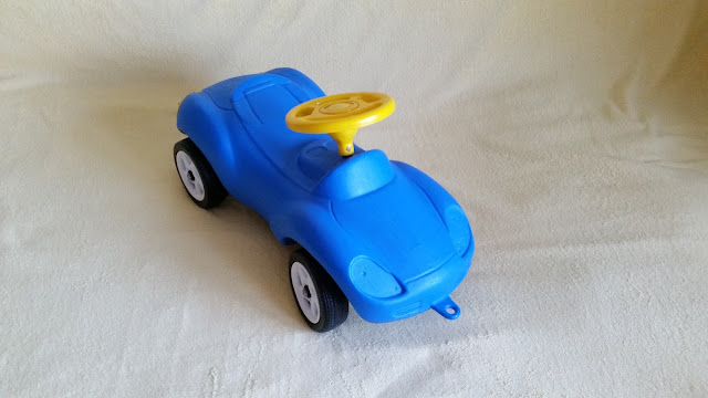 Mașină pentru copii 2-4 ani gratuita oferit de Omul din palarie