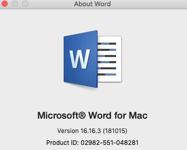 Zsoldier's Tech Blog: Microsoft Word for Mac: Bullets not