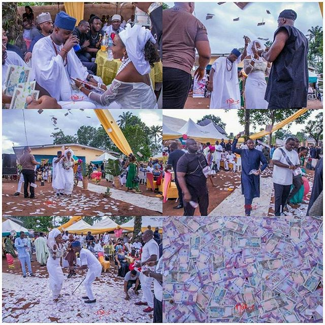 OH my God: this is money raining like water in Imo state.