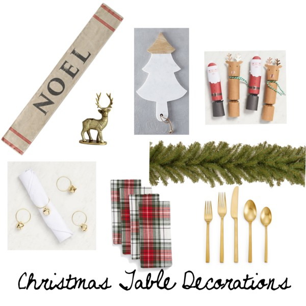 Christmas dinner table decorations inspiration