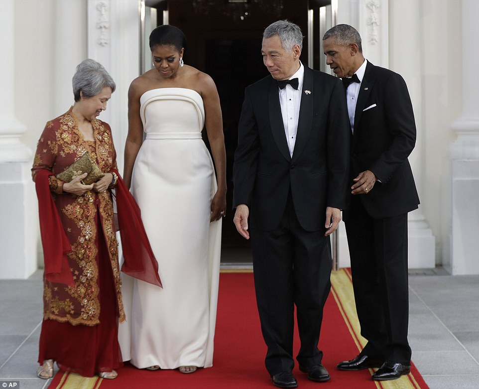 Michelle Obama Stuns At The White House State Dinner-5429
