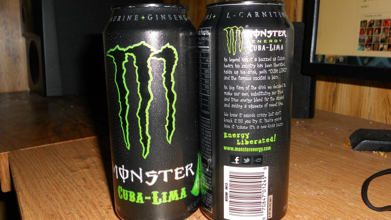 World Of Energy Drinks Monster Cuba Lima Amp Zero Ultra