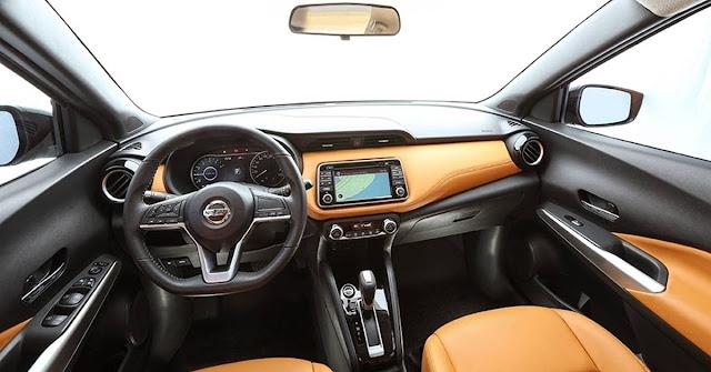 Nissan Kicks - interior