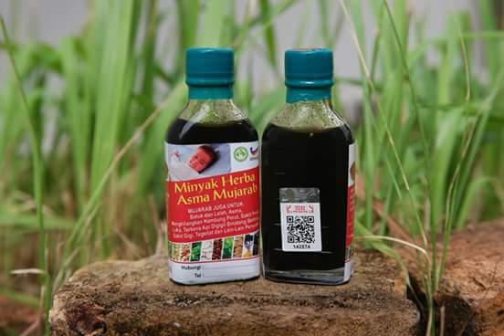 Minyak Herba Asma Mujarab, Pastikan Ori baru beli.