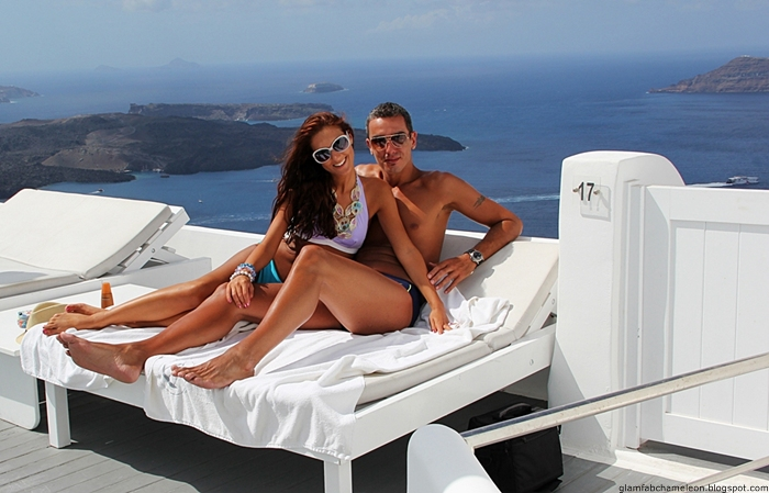 most beautiful couple photos from Santorini