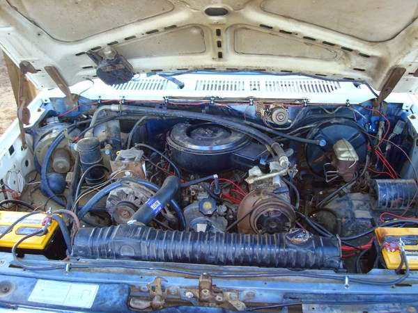 Daily Turismo: 5k: Heavy Fuel: 1985 Ford Bronco 6 9 Diesel Power