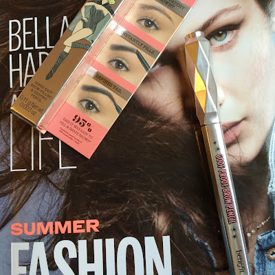 Freckles And Thoughts:  Benefit Goof Proof Eyebrow Pencil Review