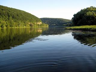 a serene river