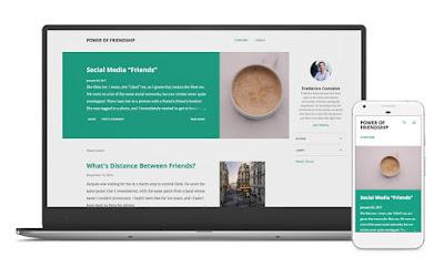 notable responsive blogger theme