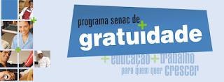 Cursos Gratuitos Senac Guarapari 2016
