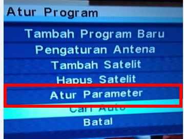 Pengaturan Parameter