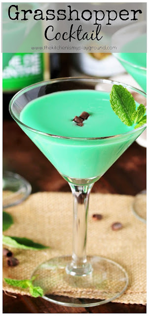 Chocolate and Mint Grasshopper Cocktail photo