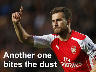 Aaron Ramsey Arsenal footballer