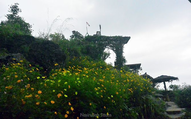 Gerbang menuju Ayunan Langit Kulon Progo