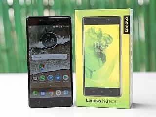 هاتف Lenovo K8 note