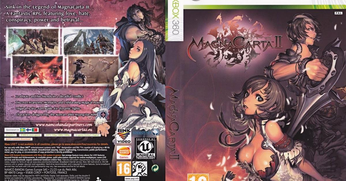 Capa Magna Carta 2 Xbox 360 - Gamecover | Capas ...