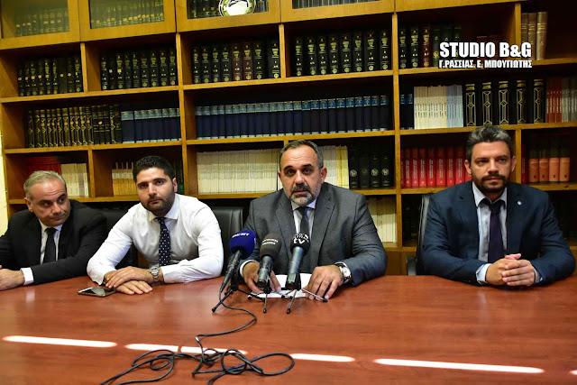 Πρόεδρος Δικηγορικού Συλλόγου Ναυπλίου: Δεν θα αφήσουμε να αποδυναμωθεί το Εφετείο Ναυπλίου (βίντεο)