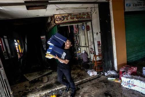 Kerugian Pedagang Akibat Kebakaran Di Pasar Senen
