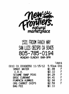 those annoying grocery store receipts frieda s inc the
