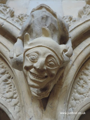 Grotesque interior Beverley Minster