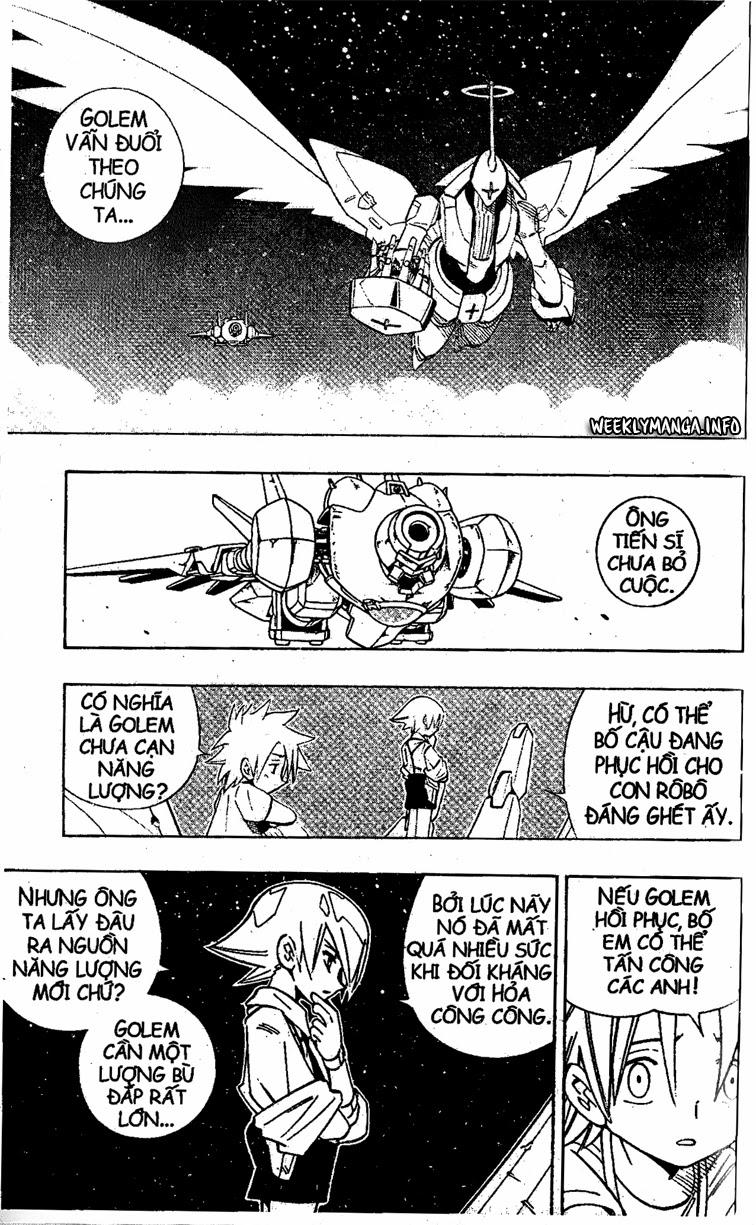 Shaman King [Vua pháp thuật] chap 201 trang 4