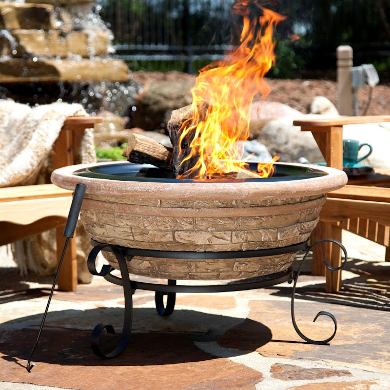 CHIMINEAS and FIRESIDE ESCAPES: COSTCO OUTDOOR GAS FIRE PITS on Costco Outdoor Fireplace  id=13854