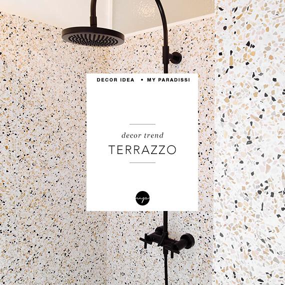 TREND SPOTTING: Terrazzo