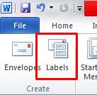 Cara Membuat Label Undangan dengan MS Word
