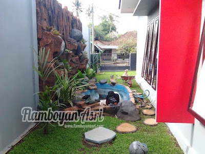 Tukang taman Surabaya Jasa Relief Tebing dan Kolam