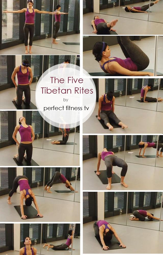 Five Tibetan Rites workout
