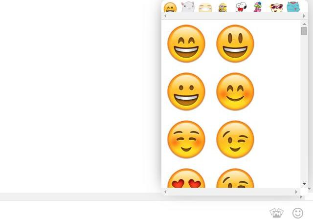 Emoticones para Direct Messenger