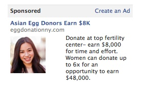 Asian donors egg
