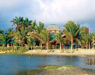 Hotel Bambu en Canoa Manabí