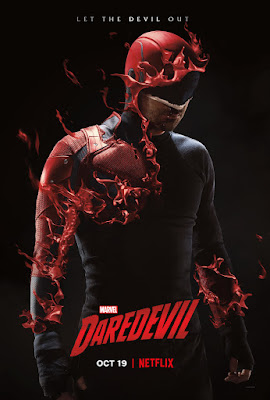Marvel's Daredevil Television Series Season 3 Final One Sheet Poster by Netflix