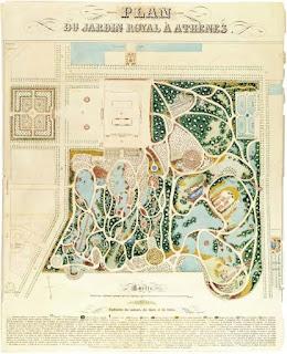 Εθνικός Κήπος - Σχέδιο Μπαρώ