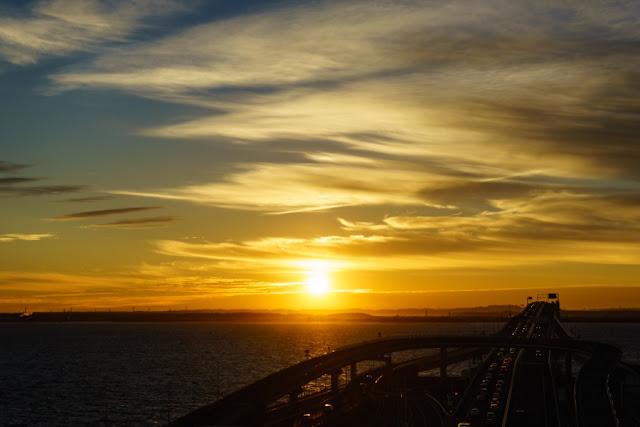 日の出~海ほたる