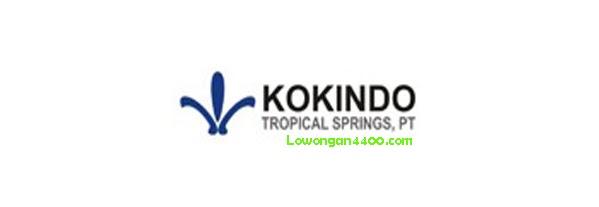 Lowongan Kerja PT. Kokindo Tropical Springs