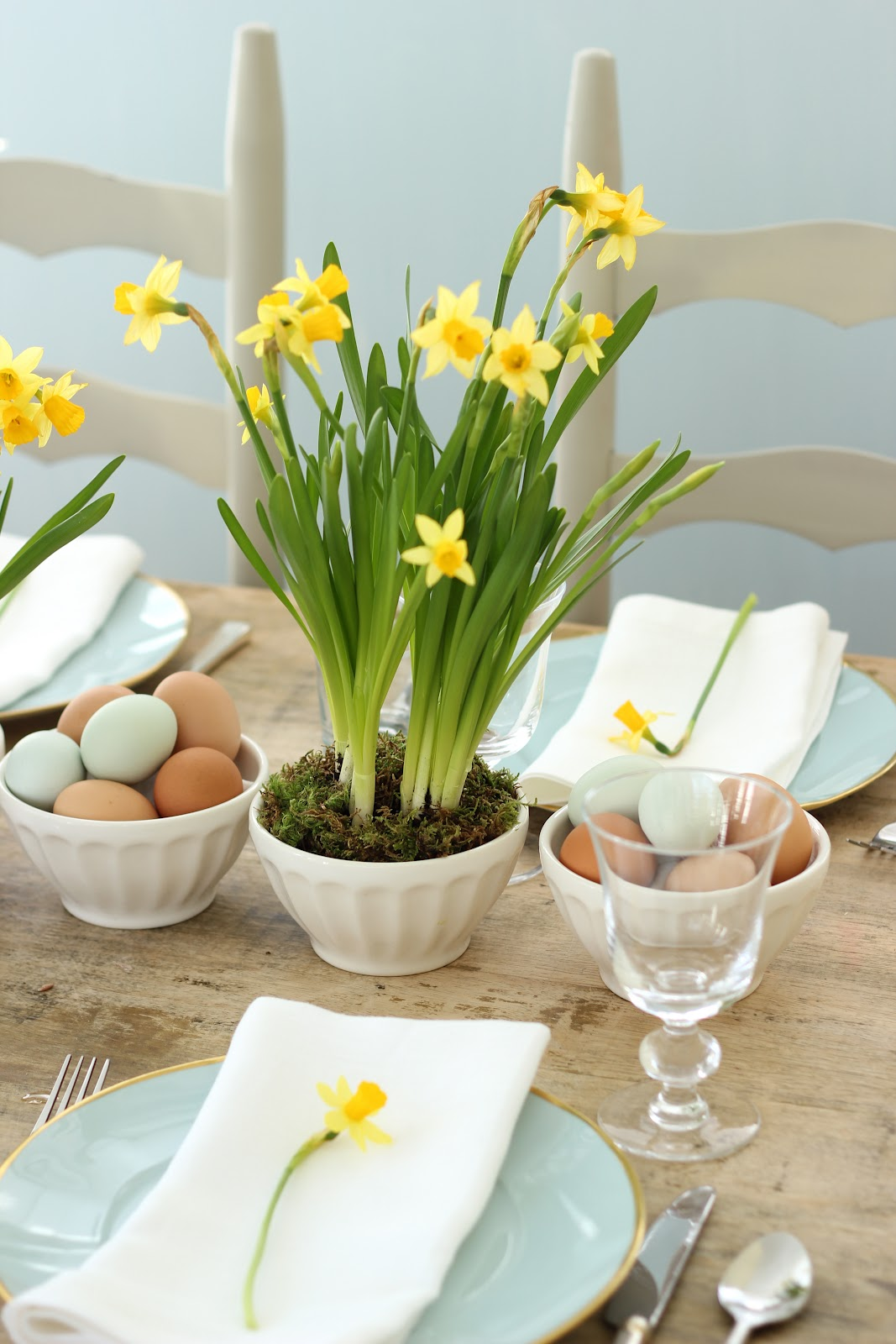 Jenny Steffens Hobick Spring amp Easter Centerpieces