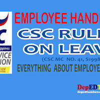 CSC Rules on Leave Handbook