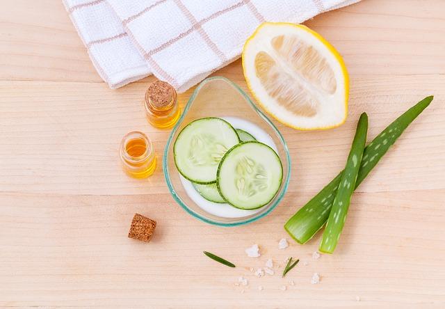 limpieza de la piel natural