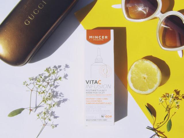 Mincer Pharma N˚ 604 Rozświetlający krem pod oczy / VitaC Infusion